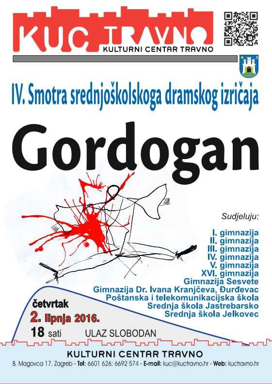 Gordogan 2.6.2016. Plakat