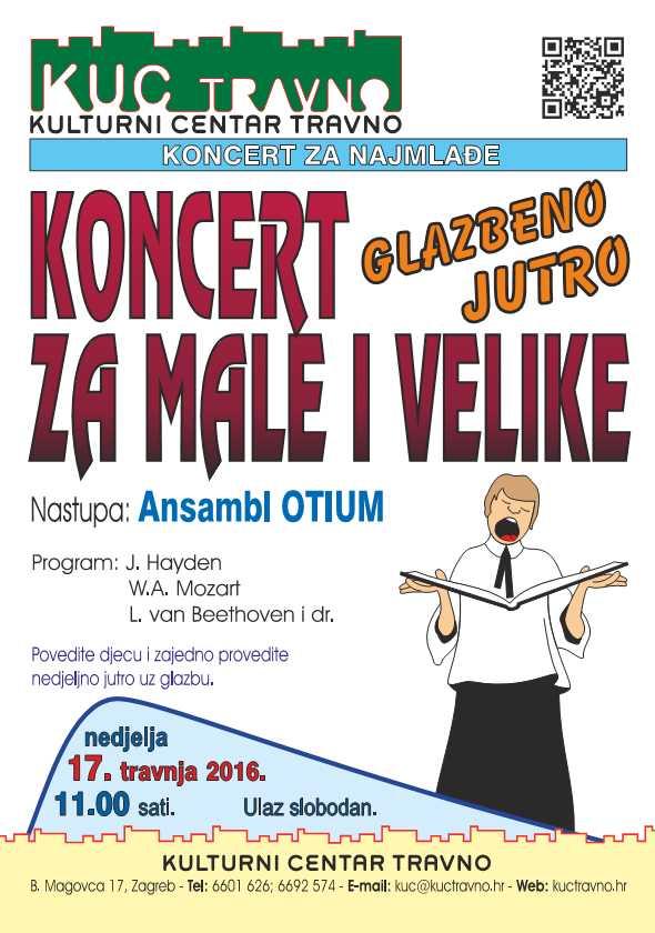 Koncert glazbeno jutro ansambl OTIUM