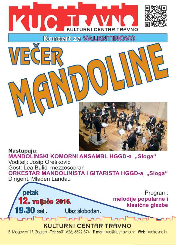 Koncert vecer Mandoline povodom Valentinova12.2.216