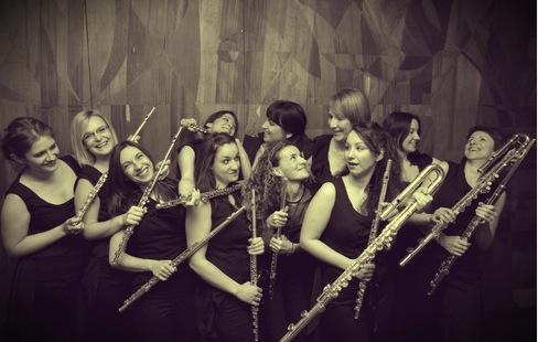 Zag. ansambl flauta
