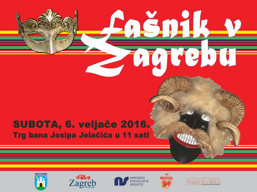 plakat fasnik u Zagrebu 622016