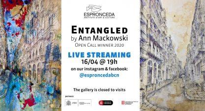 Izložba – Zapetljani (Entangled), Anne Mackowski, Barcelona