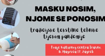 Izložba MASKU NOSIM, NJOME SE PONOSIM