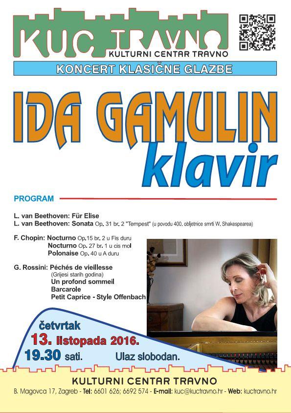 Ida Gamulin klavir