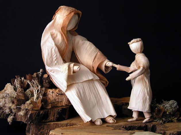 Izlozba-Bozic-2005-11-30-Samuela-37-Isus i Marija