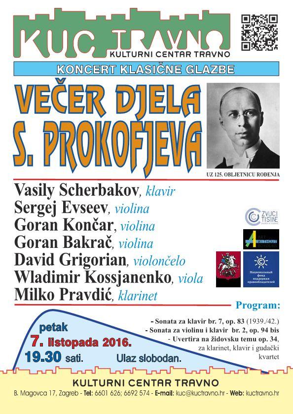 Vecer djela S.Prokofjeva