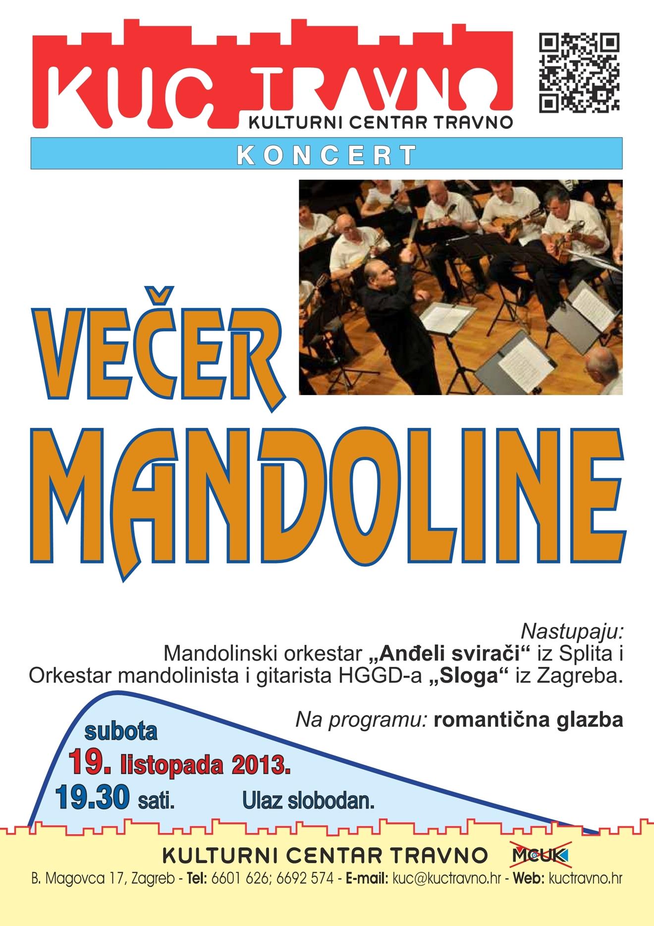 večer mandoline
